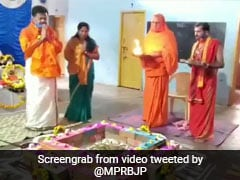 Karnataka BJP Lawmaker Performs Special Religious Ceremony Against COVID-19