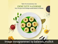 'Immunity Sandesh' - This Viral Bengali Sweet Is Made With 15 Immunity-Boosting Herbs And Spices