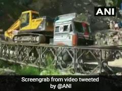 On Camera, Bailey Bridge Near India-China Border In Uttarakhand Collapses