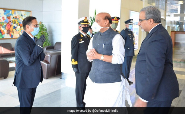 Rajnath Singh, Chinese Counterpart May Meet In Moscow: Chinese Media
