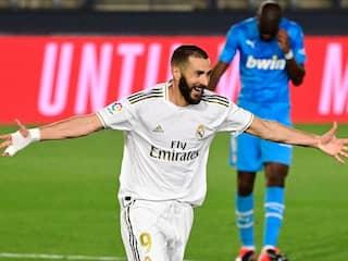 La Liga: Karim Benzema Double Helps Real Madrid Outclass Valencia