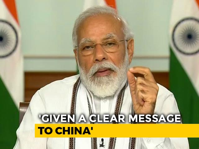 "Video : ""Entire Country Is Hurt, Angry At Steps Taken By China At LAC"": PM Modi"