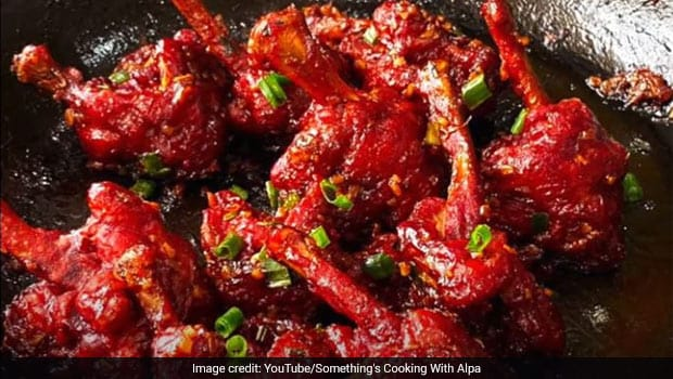 How To Make Schezwan-Style Chicken Lollipops At Home!