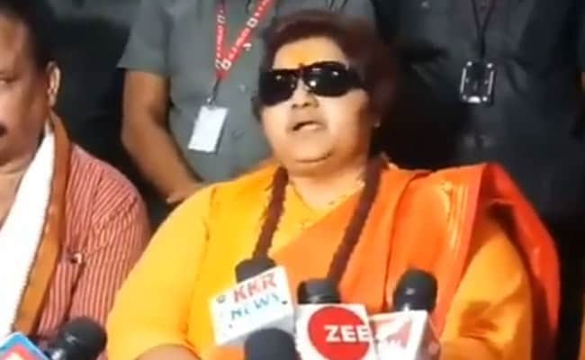 BJP's Pragya Thakur Sends Legal Notice To Cartoonist Rachita Taneja Over Website Domain