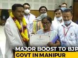 Video : As BJP Wins Manipur Rajya Sabha Seat, Congress Launches Attack