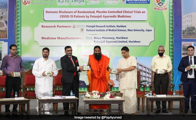 Ramdev Claims No Restriction On Patanjali's Kit For COVID 'Management'
