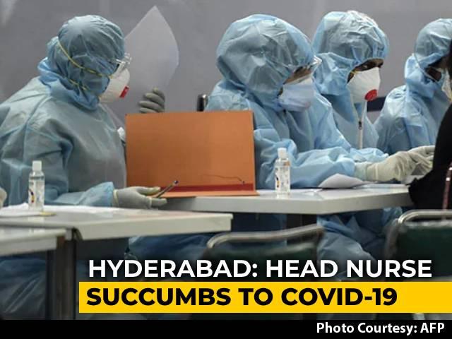 Video : Nurse Dies Of Coronavirus In Telangana 4 Days Before Retirement