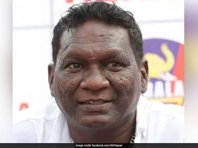 Former India Football Captain IM Vijayan Recommended For Padma Shri