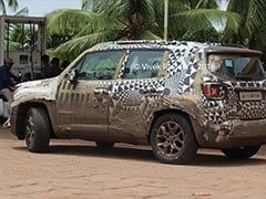 Jeep Renegade Spotted Testing In India