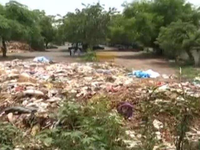 Video : Coronavirus Safety Gear Dumped At Delhi Crematorium, Poses Serious Risk
