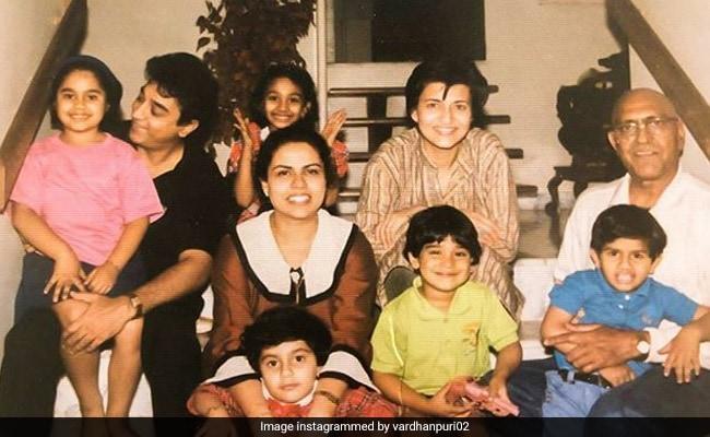 Amrish Puri, Kamal Haasan And Sarika In A Priceless Throwback Pic