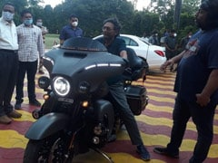 Photo Of Chief Justice Bobde On A Harley Bike Thrills Twitter