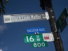 "Washington Mayor Names Protest Site Near White House As ""Black Lives Matter Plaza"""