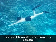 Sonakshi Sinha Snorkelling Will Take You On A Virtual Summer Holiday
