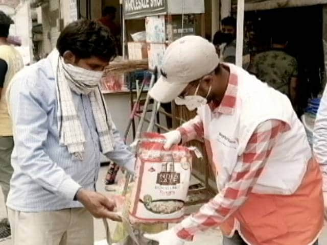 Video: NGO Provides Support To The Needy In Faridabad Amid The Lockdown