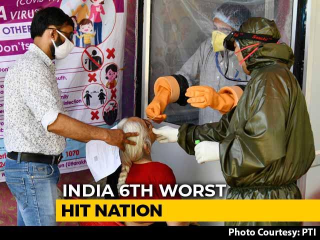 Video : India Crosses 2.35 Lakh Coronavirus Cases, Overtakes Italy For 6th Spot