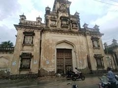 Part Of Hyderabad's Chowmahalla Palace Collapses After Heavy Rain