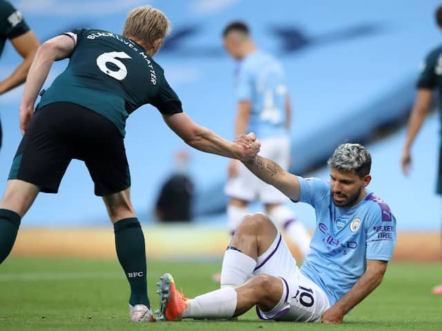 Premier League: Manchester Citys Sergio Aguero To Travel To Spain For Further Tests After Knee Injury