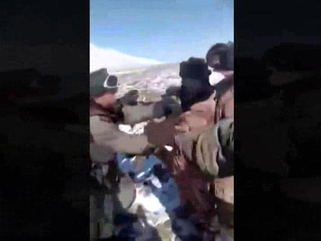 Video : Video Shows High-Altitude Clash Between Indian, Chinese Troops In Sikkim