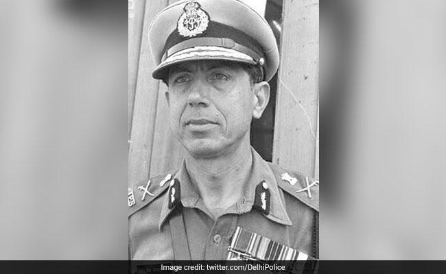 दिल्ली पुलिस ने अपने पूर्व आयुक्त वेद मारवाह को श्रद्धांजलि दी, लिखा : हमें आप बहुत याद आयेंगे, सर