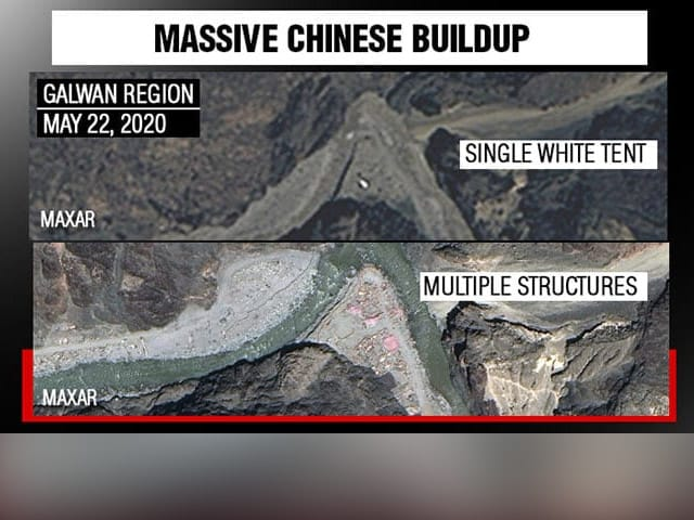 Video : Chinese Structures, Soldiers Spotted In Galwan Valley In New Satellite Images