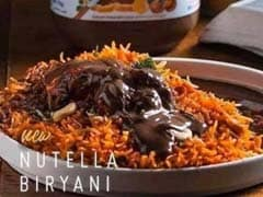 Biryani Paired With Chocolate Spread Goes Viral, Netizens Call It An 'Abomination'