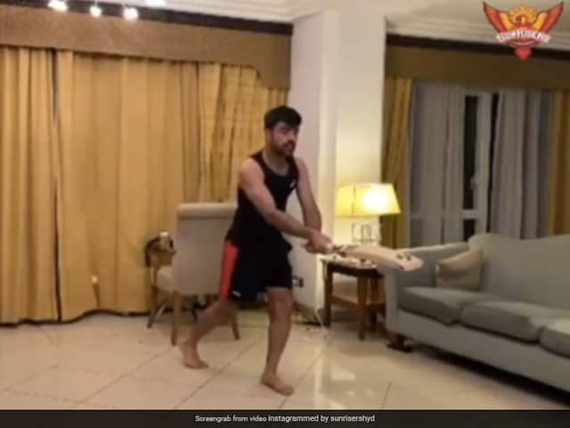 Watch: Rashid Khan Copies Steve Smith, SunRisers Hyderabad Share Video