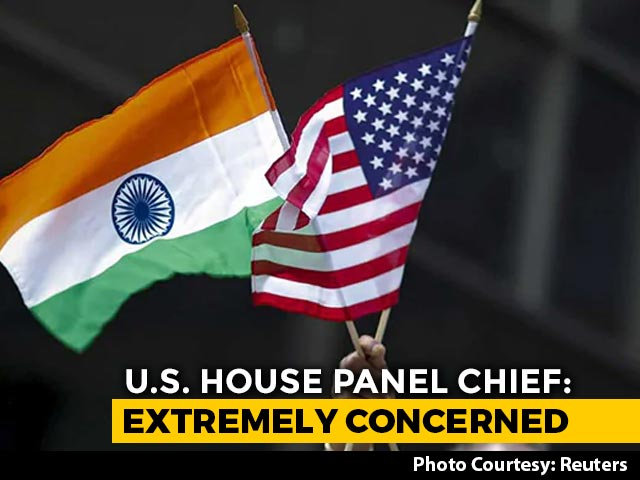 "Video : US Foreign Affairs Panel Chief Slams ""Chinese Aggression"" Against India"