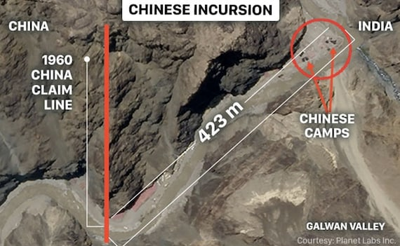 Chinese Soldiers Exit Indian Territory In Galwan, Some Tents Removed