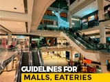 Video : With Malls, Hotels, Restaurants To Open Monday, Centre Lists New Rules