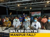 Video : Manipur's BJP-Led Government In Trouble As 9 Legislators Rebel