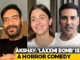 Video : Alia Bhatt, Akshay Kumar, Ajay Devgn's Virtual Chat On Their Next Films