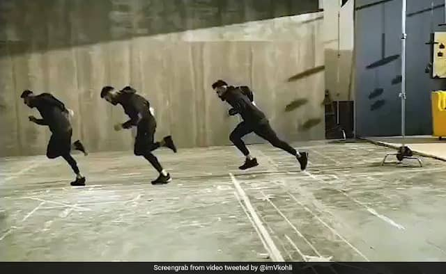Virat Kohli shares running video and ask for caption watch video