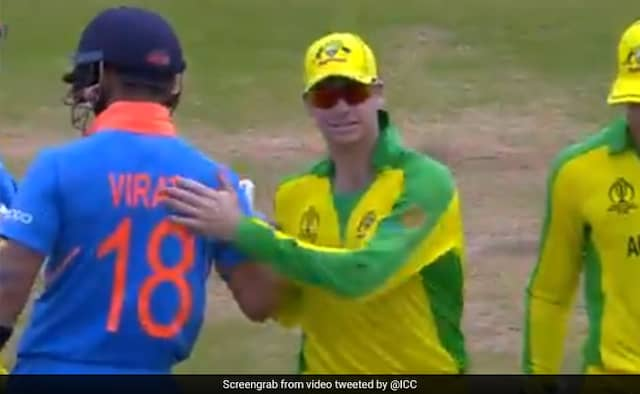 ICC Shares Throwback Video of Virat Kohli warm gesture for Steve Smith From 2019 World Cupv