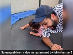 """These Days Are Not Coming Back"": Rohit Sharma Shares Adorable Video With Daughter Samaira"