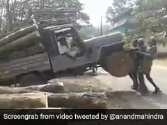 """""""Hugely Unsafe, Yet I Marvel"""": What Struck Anand Mahindra About This Truck"""