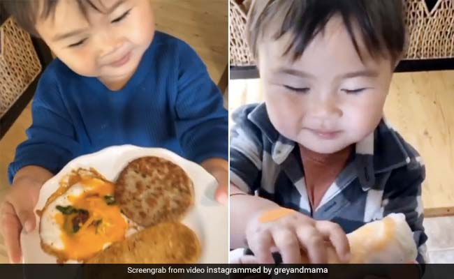 After getting the food, the child gives such an answer to the mother, made an internet sensation, watching the video, you will also say- How Cute