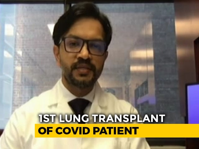 Video : Indian-Origin Doctor Performs 1st Lung Transplant In US For COVID-19 Patient