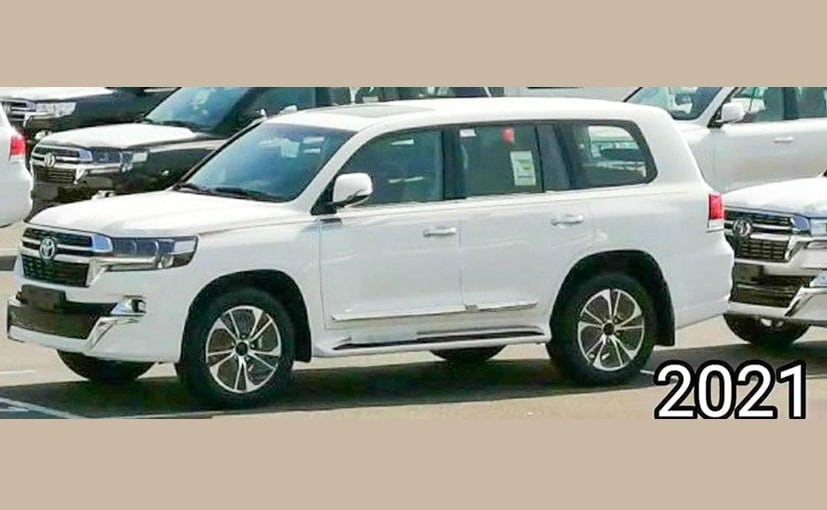 The Toyota Land Cruiser facelift is likely to go on sale in the global market towards the end of 2020