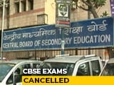 Video : No Class 10 Exams, Class 12 Exams Later If Possible: CBSE To Top Court