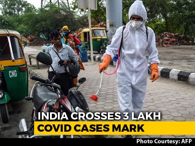 Video : India's Coronavirus Cases Cross 3 Lakh-Mark
