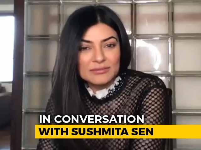 Sushmita Sen: Newcomers These Days Face A Lot of Self-Induced Pressure