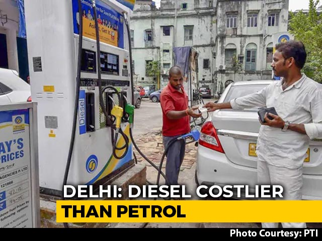 Video : Diesel Costlier Than Petrol For First Time In Delhi