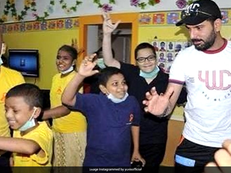 """""""Dont Give Up"""": Yuvraj Singh Pledges To Help Those Fighting Cancer"""