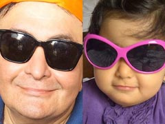 "Riddhima Shares Her ""Most Favourite Pic,"" Starring Dad Rishi Kapoor"