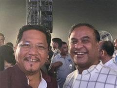 Conrad Sangma, Himanta Biswa Sarma Visit Manipur After No-Confidence Motion Moved