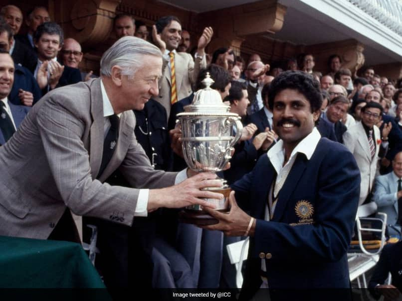 37 Years Ago, Kapil Dev Led India To Maiden World Cup Title Win