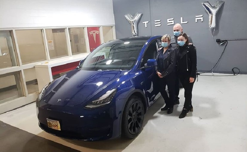 The Tesla Model Y is being chosen over the Model 3 by the Police Departments