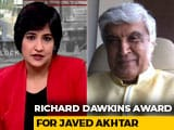 Video : Javed Akhtar Wins Richard Dawkins Award