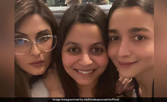 Riddhima Kapoor Sahni's picture with Alia Bhatt and Shaheen is about love